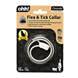 OHH New Natural Botanic Essential Oil Added Flea & Tick Collar for Cat Kitty 33cm