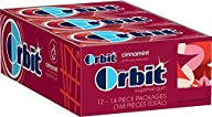 Orbit Cinnamon Sugarfree Gum, 14 Piece Pack (12 Count)