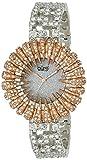 Burgi Women's BUR054RG Dazzling Crystal Quartz Bracelet Watch