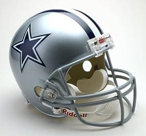 DALLAS COWBOYS Full Size Replica Football Helmet by Sports Memorabilia