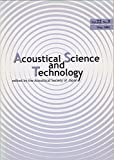 img - for Acoustical Science and Technology: Special Issue on Musical Acoustics (Vol. 22, No. 3, May 2001) book / textbook / text book