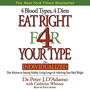 Eat Right for Your Type Audiobook