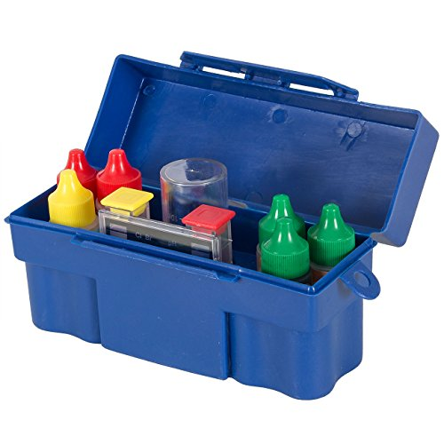 ARKSEN© 5-Way Test Kit with Case Pool Spa Hot Tub Chemical- Basic Collection Set (Hot Tub Chemical Testing Kit compare prices)