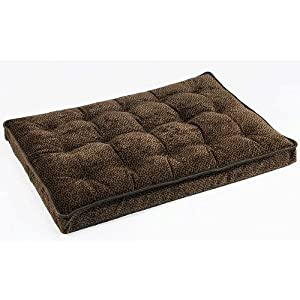 Chocolate Bones Luxury Dog Crate Mattress by Bowsers Pet Supplies