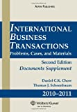 img - for International Business Transactions 2010-2011 Supplement book / textbook / text book