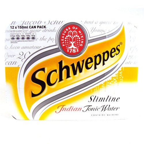 Schweppes Low Calorie Tonic Water 12x150ml 1800g