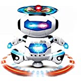 Musical And Dancing 3d Light Naughty Robot For Kids