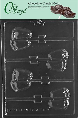 Cybrtrayd B065 Chubby Baby Feet Lolly Baby Chocolate Candy Mold front-1008314