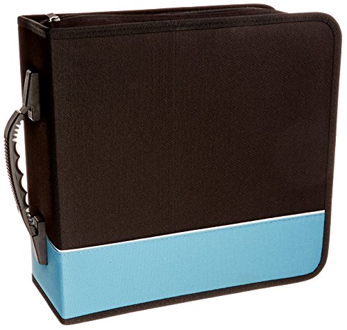 boostwaves-premium-cloth-360-compact-disc-cd-dvd-blu-ray-media-wallet-folder-carrying-case-assorted-