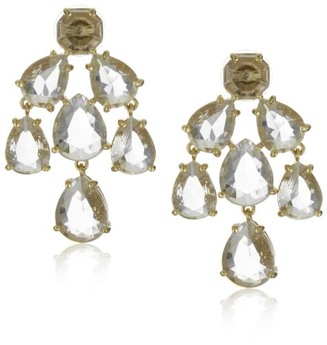 Kate Spade New York Clear Chandelier Earrings