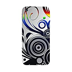 Skintice Designer Back Cover with designer 3D sublimation printing for Apple iPhone 5C