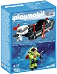 Playmobil 4910 Dinghy with Diver