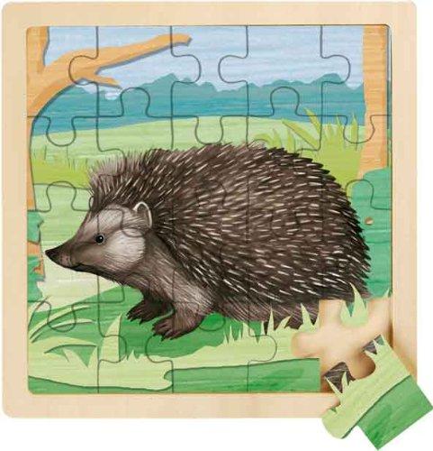 Imagen principal de Wild Republic FSC-85528 - Puzzle de madera de 20 piezas, motivo de erizo