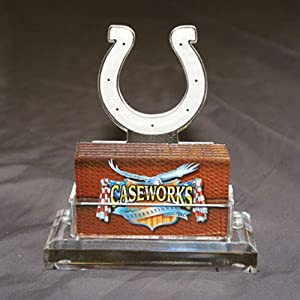 NFL Indianapolis Colts Business Card Holder in Gift Box by Caseworks