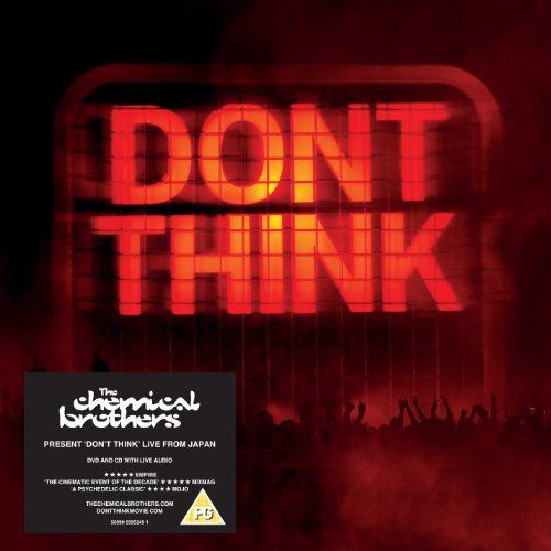The Chemical Brothers - Don't Think (Ltd Edition DVD+CD+FILM)