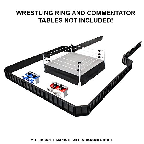Ultimate Wrestling Ring Barricade Playset for Action Figures (Figure Rings compare prices)
