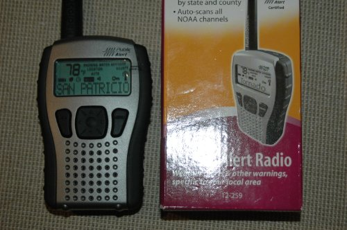 Handheld Hazard ALERT RADIO - WEATHER ALERTS & OTHER WARNINGS, SPECIFIC TO YOUR LOCAL AREA