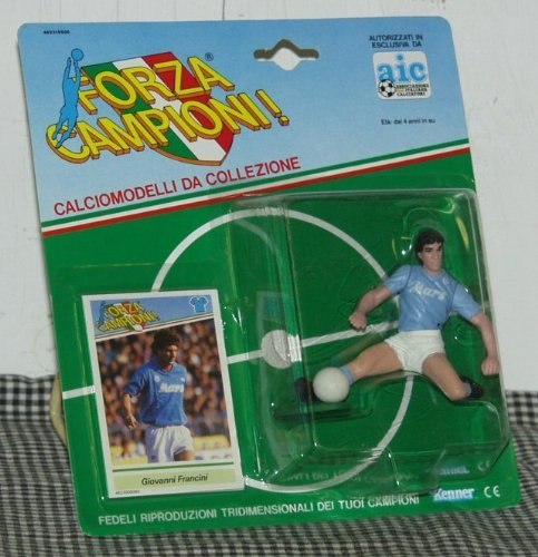 Kenner Forza Campioni! Giovanni Francini Toy Soccer Player Figure
