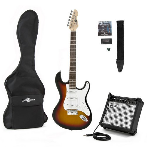 Electric-ST Guitar + Amp Pack Sunburst