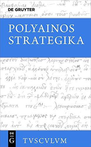 Strategika (Sammlung Tusculum)  [Polyainos] (Tapa Dura)