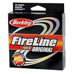 Berkley Fireline Fused Original Superline 1500 Yd Spool by Berkley