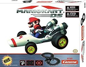 Nintendo Electronic Mario Kart DS Figure 8 Circuit Race Track with Mario and Wario Karts