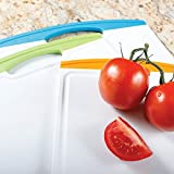 Neoflam Multi Color Coded Cutting Board Set, 3 Piece