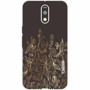 Moto G4 Plus Back Cover - Silicon Abstract Designer Cases