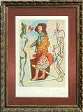 Courtier (Five of Swords) - Salvador Dali Lithograph