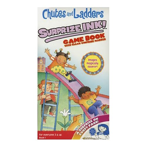 Giddy Up Chutes & Ladders Book With Marker Activity Set