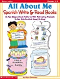 img - for All About Me Spanish Write & Read Books book / textbook / text book