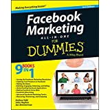 Facebook Marketing All-in-One For Dummies (For Dummies (Business & Personal Finance)) by Andrea Vahl, John Haydon and Jan Zimmerman  (Aug 18, 2014)