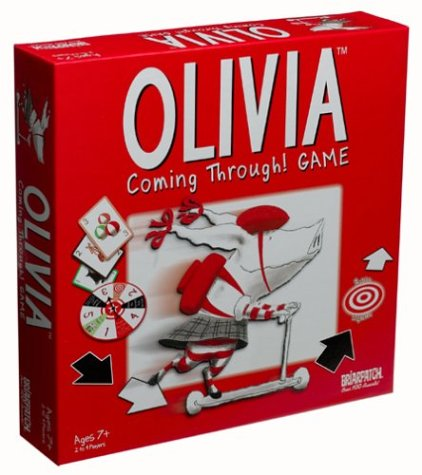 Olivia Coming Through Board Game
