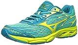 Mizuno Womens Wave Catalyst-W Running Shoe, Electric Green-Yellow, 8.5 B US