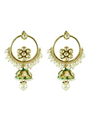 BGS Style Diva Gold Plated Metal Earring For Women - B00L2EJ4FK