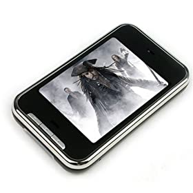 uTronix 2GB Touch Screen MP3 MP4 Video Player 2.8 Inches LCD (Retail Package)