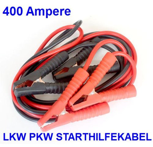 400 AMPERE (A) STARTHILFEKABEL ÜBERBRÜCKUNGSKABEL