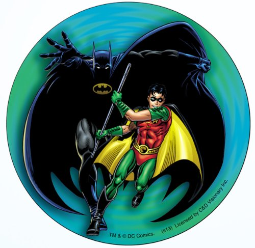 Licenses Products DC Comics Batman - Batman and Robin Sticker - 1