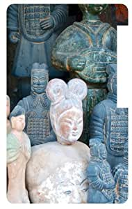 Stone Soldier Statues Back Cover Case for Apple iPod Nano 7