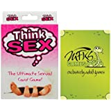Think Sex - Adult Card Game For Couples - Bundle - 2 Items