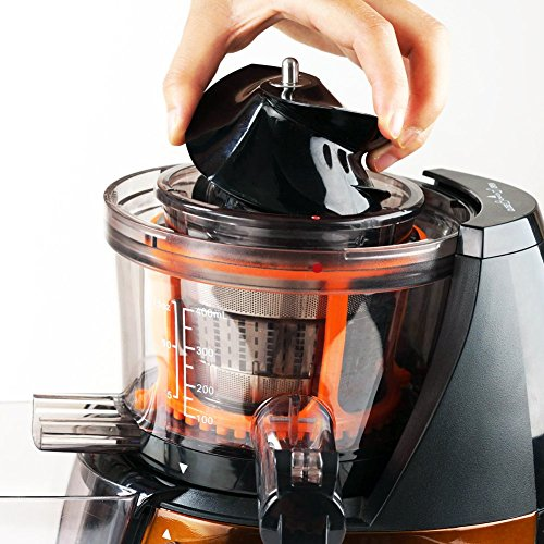 SKG Premium 2-in-1 Anti-Oxidation Slow Masticating Juicer & Food Processor - vertical ...