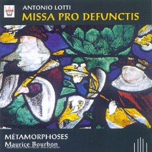 Missa Pro Defunctis a 4 Voix-Cruc