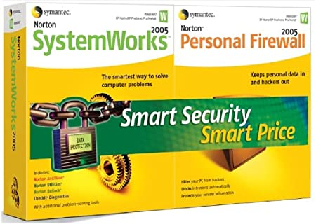 Norton Systemworks and Personal Firewall 2005 Bundle