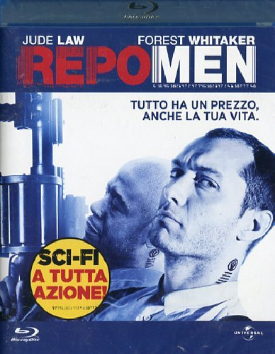 Repo men [Blu-ray] [IT Import]
