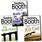 Stephen Booth Stephen Booth Collection Detective Constable Ben Cooper 3 Books Set Pack RRP: £23.97 (The Dead Place, The Kill Call, Blood on the Tongue)