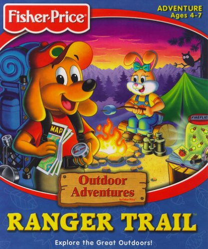 Fisher-Price Outdoor Adventures Ranger Trail - Pc front-611666