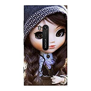 Sweet Angel Doll Multicolor Back Case Cover for Lumia 920