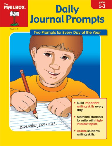 Daily Journal Prompts, Grades 1-3