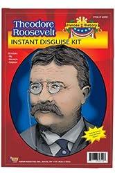 Forum Novelties Men's Heroes in History - Theodore Roosevelt Accessory Kit