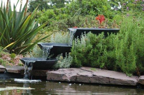 Fontaine de jardin nova scotia ubbink en terrazzo 1312100